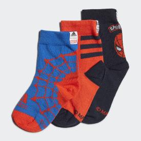Marvel Spider-Man Primegreen Socken, 3 Paar