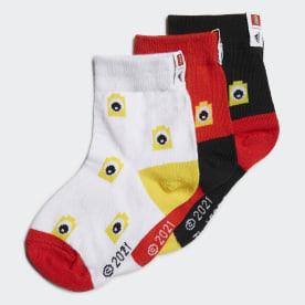 adidas x Classic LEGO® Engineered Crew sokker, 3 par