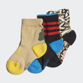 Ponožky adidas x LEGO® Baumhaus - 3 páry