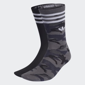 Camo Crew Socks 2 Pairs