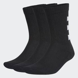 3-Stripes Half-Gevoerde Sokken 3 Paar