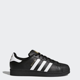 ADIDAS SUPERSTAR LEATHER LOW SNEAKER TRAINERS WOMEN SHOES BLACKWHITE SIZE 7 NEW | eBay