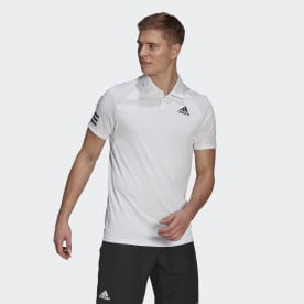 Tennis Club 3-Stripes Polo Shirt