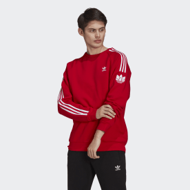 Sweatshirt 3-Stripes Trefoil 3D LOUNGEWEAR Adicolor