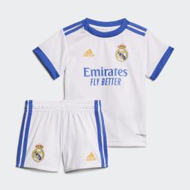 Miniconjunto Baby primera equipación Real Madrid 21/22