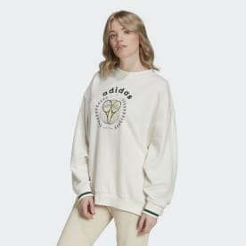 Tennis Luxe Graphic Sweater