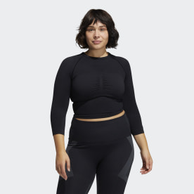 Formotion Cropped Training Tee (Plus Size)
