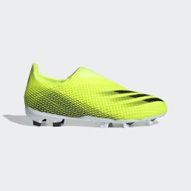 X Ghosted.3 Laceless Firm Ground Cleats