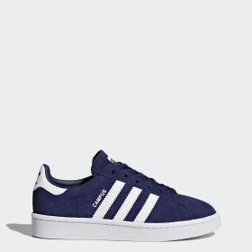 Chaussures Adidas Campus Garçons France Bleu rrxdatqv