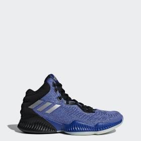 Chaussures Basketball Montante Basket BounceAdidas Bleu RL34jqA5