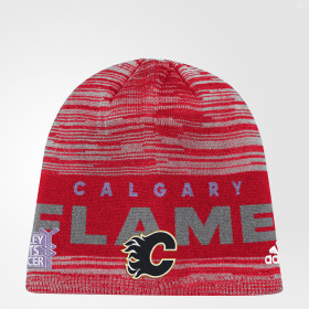 Hockey Fights Cancer Flames Heathered Beanie