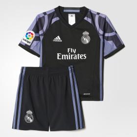 Miniconjunto tercera equipación Real Madrid