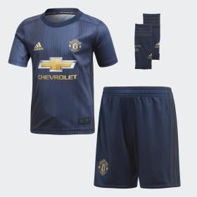 Miniconjunto tercera equipación Manchester United