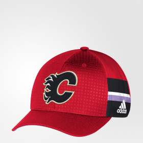 Hockey Fights Cancer Flames Structured Flex Cap