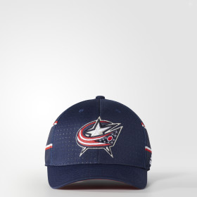 Blue Jackets Structured Flex Draft Cap