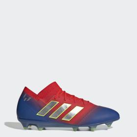 Bota de fútbol Nemeziz Messi 18.1 césped natural seco