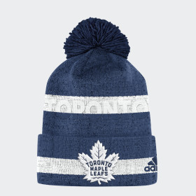Maple Leafs Team Cuffed Pom Beanie