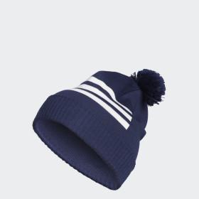 Čepice 3-Stripes Pompom