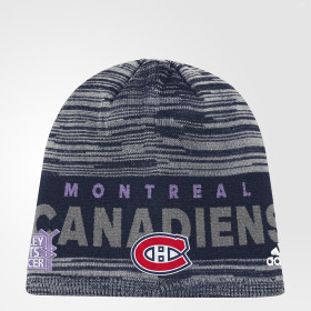 Bonnet Hockey Fights Cancer Canadiens Heathered