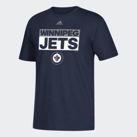 Jets Box Logo Tee