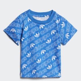 Camiseta Trefoil Monogram