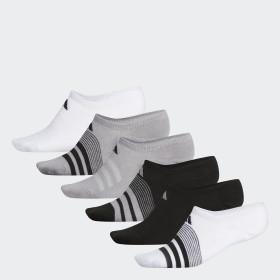 Superlite Super No-Show Socks 6 Pairs