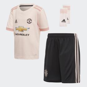 Miniconjunto segunda equipación Manchester United