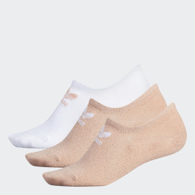 Lurex Super-No-Show Socks 3 Pairs