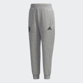 Spodnie z materiału frotté
