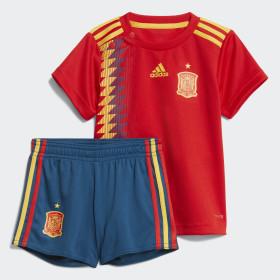 Zestaw podstawowy reprezentacji Hiszpanii dla najmłodszych