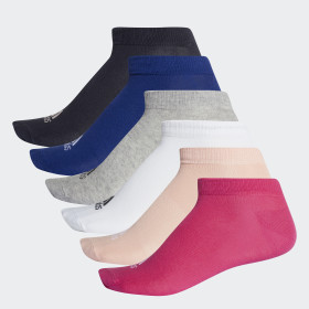 Performance No-Show Socks 6 Pairs