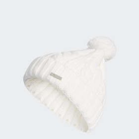 Solid Pompon Beanie