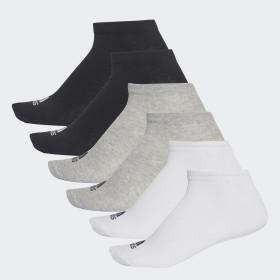 Performance No-Show Socks 6 Pairs