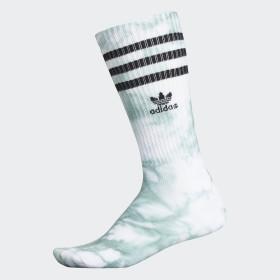 Tie-Dye Roller Crew Socks