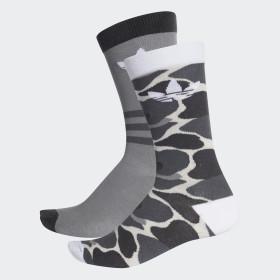 Trefoil Crew Socks