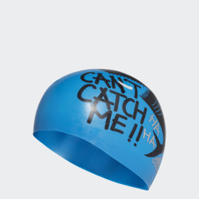 adidas graphic swim cap