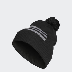 Bonnet 3-Stripes Pompom