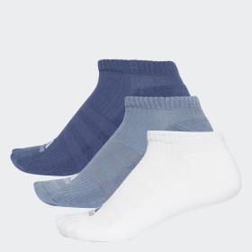 Socquettes invisibles 3-Stripes (lot de 3 paires)