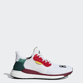 Pharrell Williams x adidas Solar Hu Glide Skor