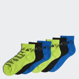 Tiger Style Quarter Socks 6 Pairs