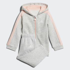 Linear Hooded Fleece joggingdragt