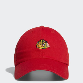 Blackhawks Dad Adjustable Slouch Cap