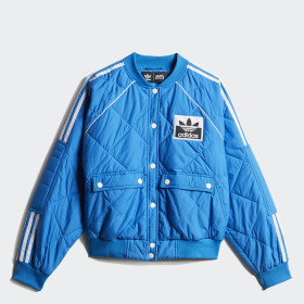 Quilted Track Jacket