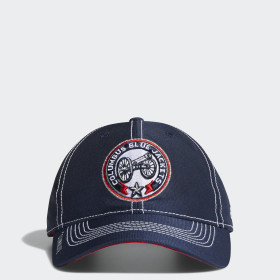 Blue Jackets Adjustable Slouch Dobby Hat