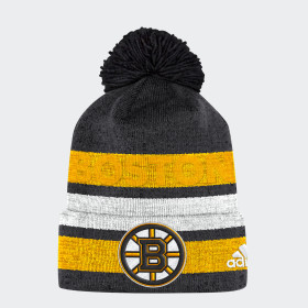 Bruins Team Cuffed Pom Beanie