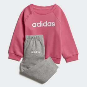 Linear Fleece Jogger Set