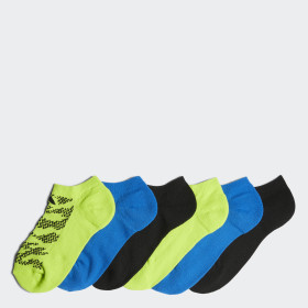 Tiger Style No-Show Socks 6 Pairs