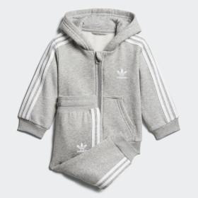 Trefoil Full Zip Hoodie Trainingsanzug