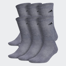 Athletic Crew Socks 6 Pairs