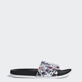 Adilette Cloudfoam Plus Graphic Slippers